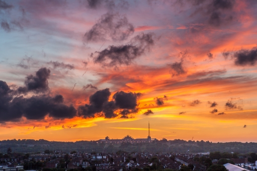 Alexandra Palace Sunset