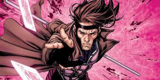 Gambit exhibiting his power