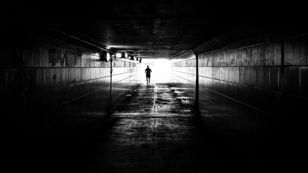 Metaphor of Running Underground