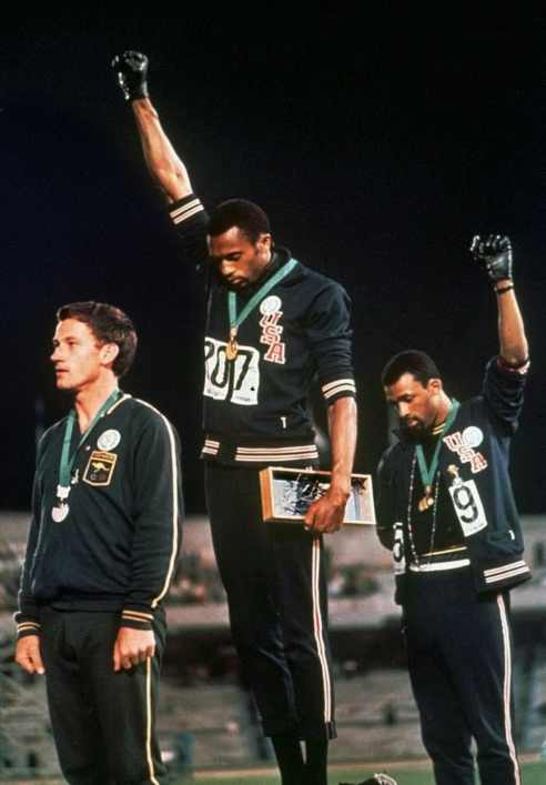 Black Power Salute