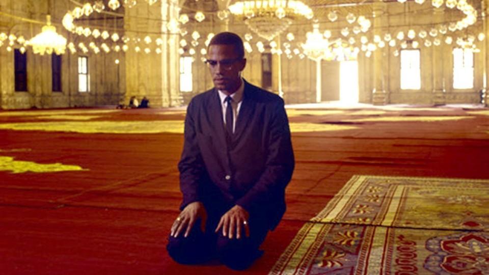 A reflective Malcolm X